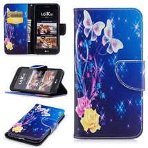 XYX Wallet Phone Case for LG K20 Plus Case,LG LV5,[Yellow Butterfly][Kic... - $9.88