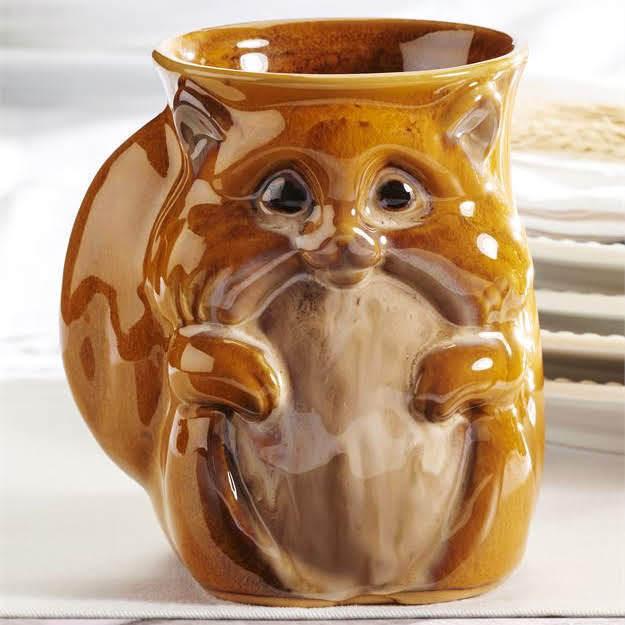 Chipmunk Squirrel Hand Warmer Mug | Woodland | Fall | Coffee | Tea | Kitchen