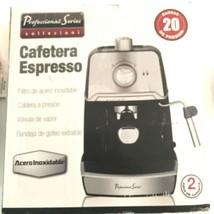 Professional Series Collezioni Espresso & Cappuccino Maker PS-CE028 New ... - $122.65