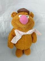 Vintage 1976 Fisher Price Fozzie Bear Hat Muppets Plush Jim Henson 851 - $12.86