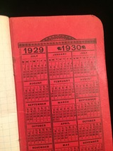 "Vintage 1929/30 ""Why not cook with GAS?"" pocket notebook image 3"