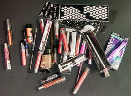 Lot of 31 Wet 'n Wild Cosmetics Makeup Products, Various Types, AS PICTURED - $17.15