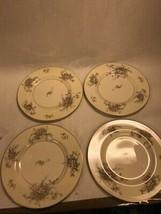 4 Dinner Plate Vintage Theodore Haviland Apple Blossom China 10.5 Inch - $21.71