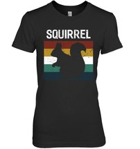 Vintage Style Squirrel Silhouette tshirt - $19.99+
