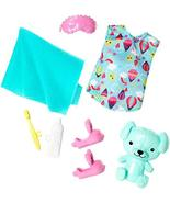 Barbie Club Chelsea Accessory Pack, Bedtime-Themed Clothing and Accessor... - $9.85