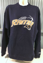 St. Louis Los Angeles Rams NFL Reebok Size Large Sweatshirt  - $16.15