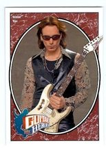 Steve Vai trading card (White Snake) 2008 Upper Deck Guitar Heroes #250 - $4.00