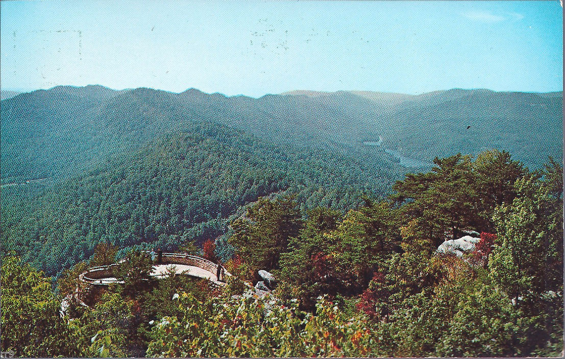 Primary image for Overlook Terrace -- Cumberland Gap National Historical Park  Postcard