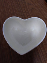 Porcelain Heart Shape Roses 2 Cherub Angels Trinket Jewelry Dish image 3