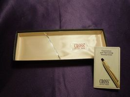 Vintage Cross Writing Instrument Pen W/ Box  image 9