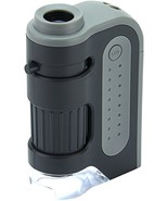 Carson MicroBrite Plus 60x-120x LED Lighted Pocket Microscope - $13.69