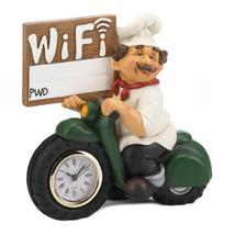 Chef W/Wifi Sign And Clock - $45.50