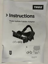 """Thule Fat Bike Adapter Cradle 5991 for Thule UpRide 3-5"""" Roof Carrier NEW in Box image 5"""