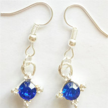 Royal Blue Gem Earrings >> We Combine Shipping (4574) - $2.72