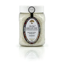 Oli-Oly Bath Salt with Argan Oil Unscented 300 g - Moisturizing, Softening - $19.95