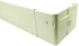 "Graber 4 1/2-Inch Wide Pocket Dauphine Rod, 28 to 48"" Adjustable Width, White"