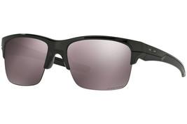 Oakley Thinlink Polarized Sunglasses OO9316-08 Polished Black W/ Prizm Daily - $65.39