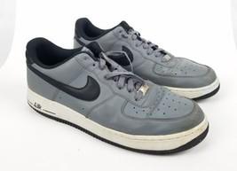 best service cd1e2 18b4c Nike 488298-086 Air Force 1 Mens Lifestyle Shoe (Grey Black White