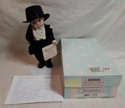 "2001 Madame Alexander 8"" GROOM (Blonde) Doll 21070 Display Model NEAR MINT w Box - $71.21"