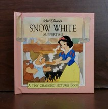 Walt Disney Snow White Suppertime A Tiny Changing Pictures Book.Rare col... - $6.93
