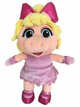 NEW Disney Junior Muppet Babies Miss Piggy 14 inch Plush Stuffed Animal Pal NWT - $28.42