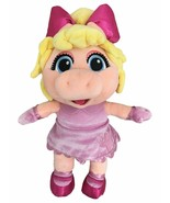 NEW Disney Junior Muppet Babies Miss Piggy 14 inch Plush Stuffed Animal ... - $28.42