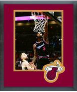 Derrick Jones 2018-19 Miami Heat -11x14 Team Logo Matted/Framed Photo - $43.55