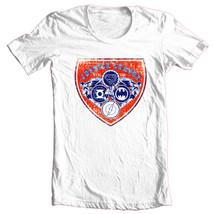 Justice League T-shirt Free Shipping cotton white tee superhero DC comics DCO526 image 2