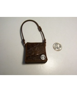 Ever After High Hunter Huntsman Brown Bag Satchel Purse Replacement Acce... - $4.99