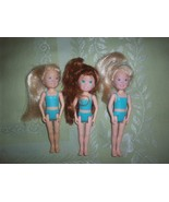 Tyco Quints Rare Triplets Teenage Cousins Babysitters Lot of 3 Dolls - £10.79 GBP