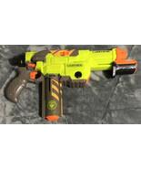 Nerf Vortex Lumitron Glow In The Dark Disc Gun Toy Blasters - $13.85