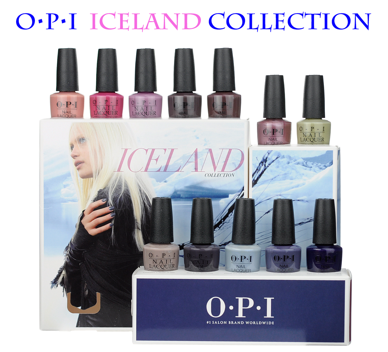 Primary image for NEW! OPI Iceland Fall/Winter 2017 Collection NEW (UNOPENED) 100% AUTHENTIC!