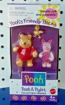 NEW- POOH'S FRIENDLY PLACES - POOH & PIGLET- COLLECTIBLE FRIENDS - MADE ... - $27.99