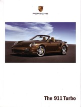 2008 Porsche 911 TURBO sales brochure catalog US 08 997 - $15.00