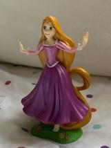 """4"""" Disney Repunzel W Open Arms figure Figurine Cake Topper Used Super Cute - $19.79"""