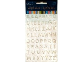 Mark Richards Alphabet Pearl Stickers #2039