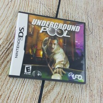 Underground Pool Nintendo DS 2007 Complete Case Instructions  - $8.90