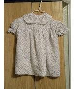 vintage floral baby dress - $5.00