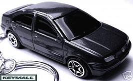 BLACK VW JETTA VOLKSWAGEN BORA CITY CLASSIC PORTE CLE LLAVERO SCHLÜSSELA... - $38.95