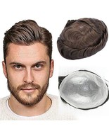 UniWigs Eros Ultra Thin Skin V-looped Hair System for Men,Toupee for Hai... - $166.94