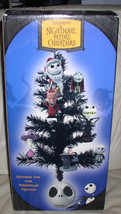 Nightmare Before Christmas tree with 7 bobble head ornaments Mint Origin... - $199.92
