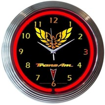 "GM Trans Am Racing Neon Clock 15""x15"" - $69.00"