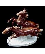Carl Scheidig German Art Pottery Wild Horse Figurine Germany - $24.50