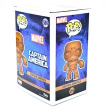 Funko Pop! Marvel Captain America Entertainment Earth Exclusive Wood Deco #584 image 4