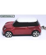 KEY CHAIN 02~2012 CHILI RED NEW BMW MINI COOPER LLAVERO SCHLÜSSELANHÄNGE... - $24.98