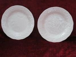 Nikko Woodbury White set of 2 salad plates - $17.77