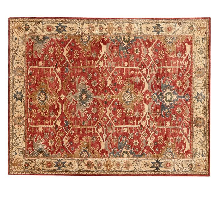 NEW Persian 8'X10' CHanning RUST woolen area rugs carpet for sale  USA