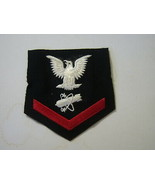 NUCLEAR WEAPONSMAN THIRD CLASS RATING BADGE WOOL 1957-1961 E4  :KY20-2 - $10.00