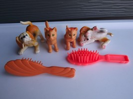 1996 Mattel Barbie Check Up & Play Center Playset Pets and Comb - $17.75