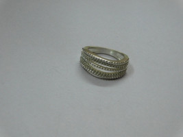 925 sterling Silver mount Ring, Round- 1  mm,RI-0310,ring,all size avail... - $14.30